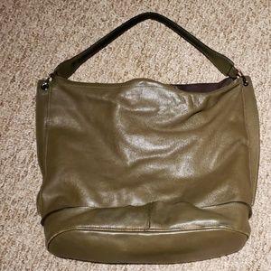Authentic Longchamp 3D large leather bag